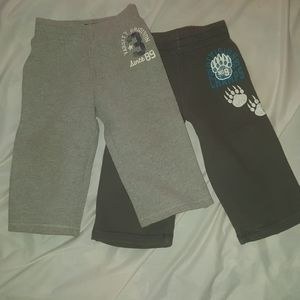 2 Grey Sweatpants